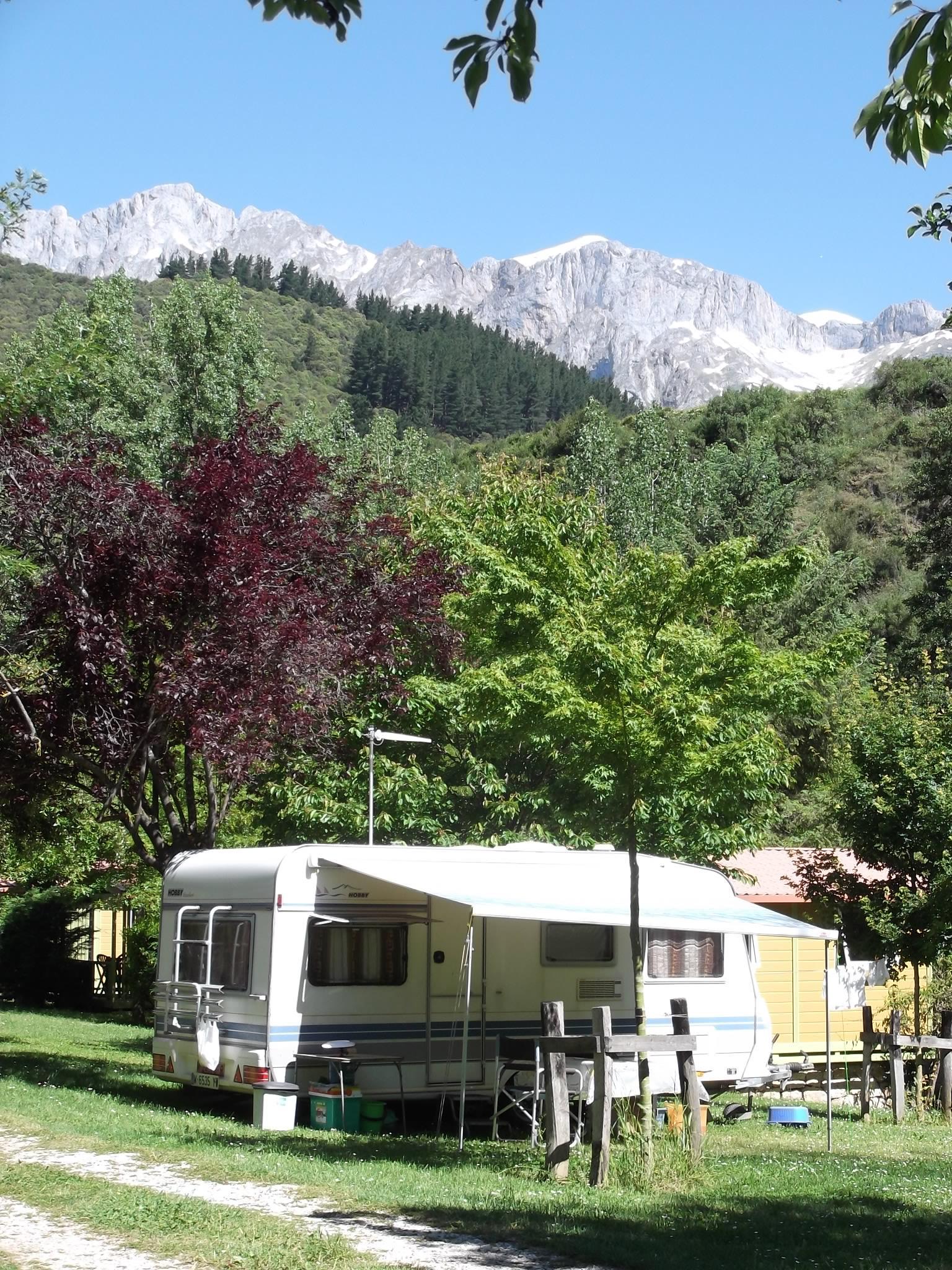 Camping La Isla Picos De Europa 9102