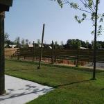 camping rural montori 18256 Jardín Chalet de madera